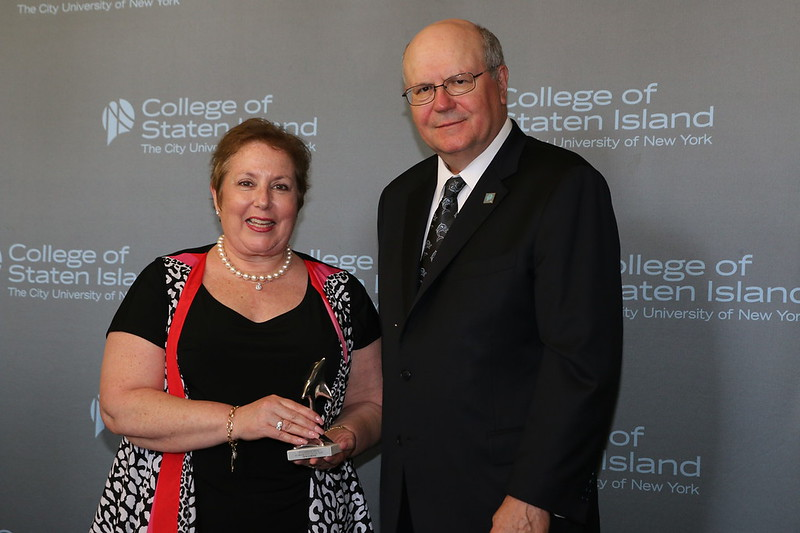 Dolphin Award for Outstanding Scholarly Achievement by a Member of the Full-Time Faculty: Daniel McCloskey, Associate Professor, Department of Psychology; and Dolphin Award for Outstanding Teaching by a Member of the Full-Time Faculty: Patricia Brooks, Professor, Department of Psychology.