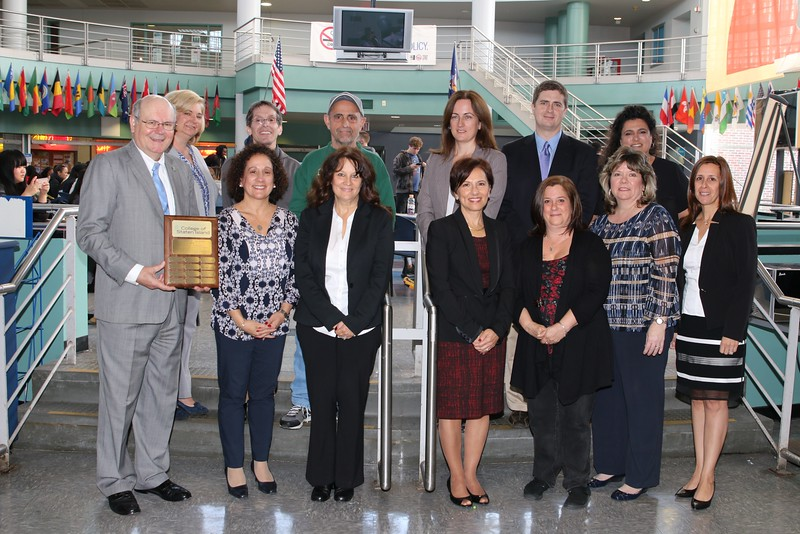 The Office of Human Resources at the College of Staten Island (CSI) proudly honored the 2016 Employee of the Month recipients at the 2016 Annual Employee of the Month Luncheon in the Campus Center's Green Dolphin Lounge on November 4, 2016