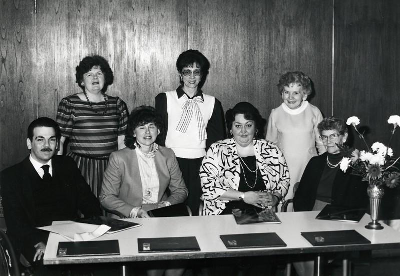Anne Kaler, Carol Breslin, Sister Mary Delaney, Spring 1987