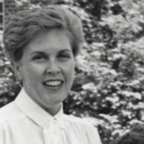 Bobi McHale at Biology Week, 1985