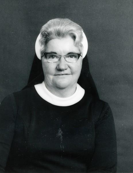 Sister Christine McCann, ca. 1975