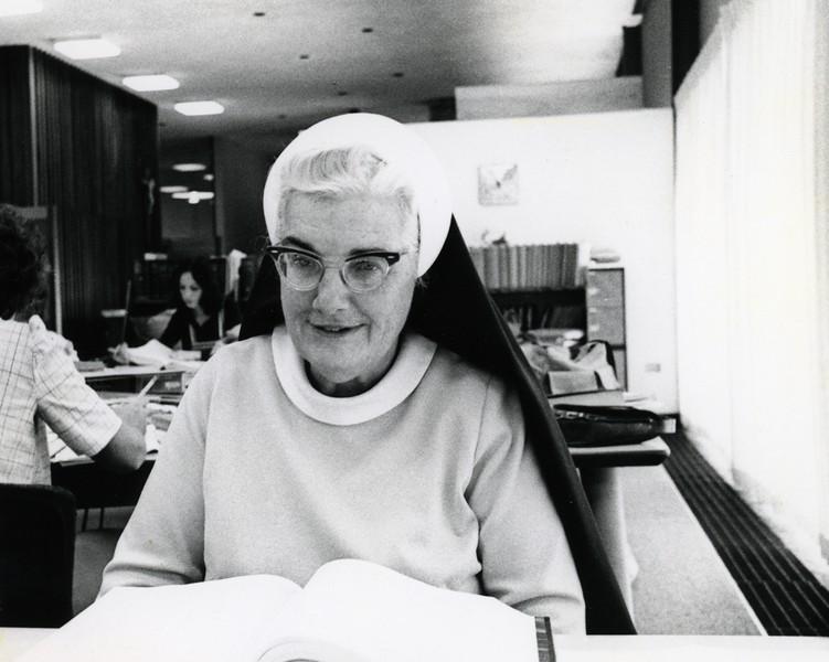Sister Mary Cecilia Hilferty, 1975