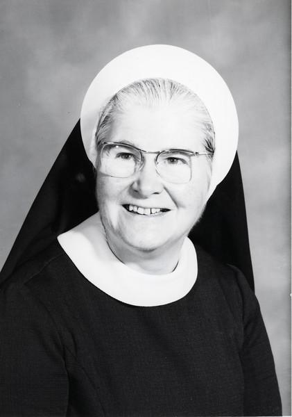 Sister Mary Maurice Boyle, 1973