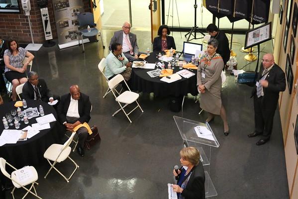 Faculty Dinner Meeting called by Dean Deborah Prothrow-Stith