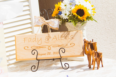 Fady & Alexis Married _ Ceremony, Candids & Details  (44)
