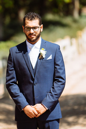 Fady & Alexis Married _ Park Portraits & First Look  (59)