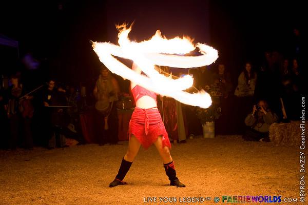 Fire Show & Night Shots by Byron Dazey