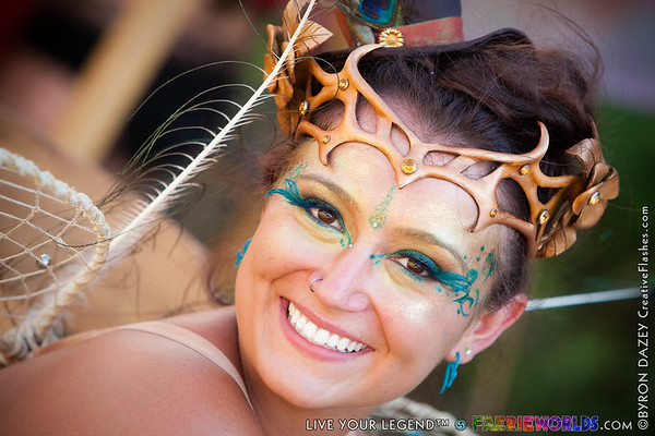 Faces of Faerieworlds by Byron Dazey