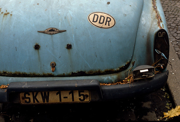 Germany - Berlin - Rusting DDR Wartburg 312 car