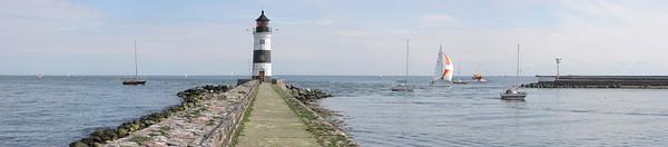 Schleiregion, Schleswig-Holstein, Ostsee, der Leuchtturm von Schleimuende.