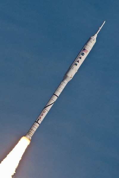 Ares I-X -- First Flight of a New Moon Rocket