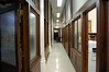 Hallway along Basement Meeting Rooms