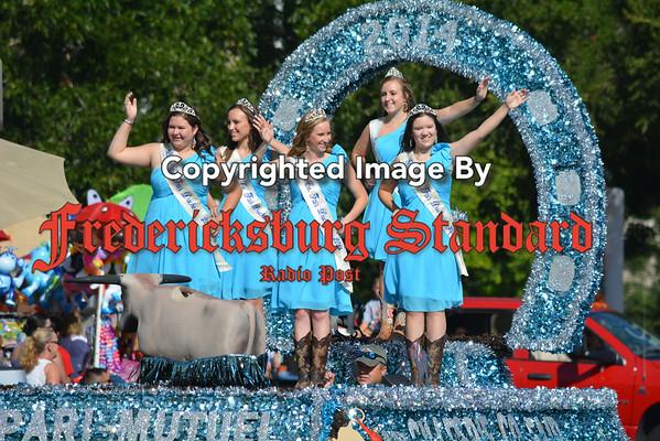 Fair Parade and Dominoes -- 08-27-14