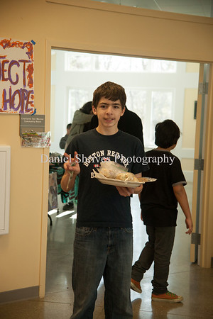 Ben Steorgon selling food for $1