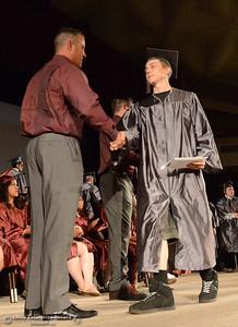 Fair View High School's class of 2017 graduates Tuesday, June 6, 2017, at Neighborhood Church in Chico, California. (Dan Reidel -- Enterprise-Record)