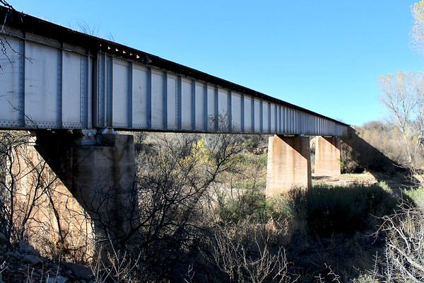 1926 Railroad Bridge over the San Pedro River (2019)