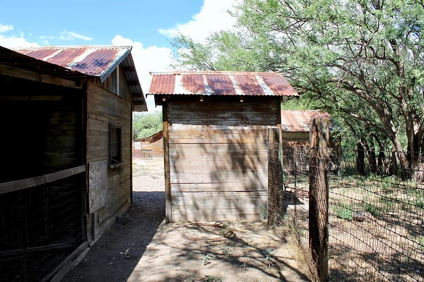 Stable and outhouse buildings (2019)