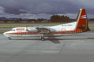 AIRES Colombia Fairchild F-27A HK-3356X (msn 105) BOG (Christian Volpati Collection). Image: 953511.