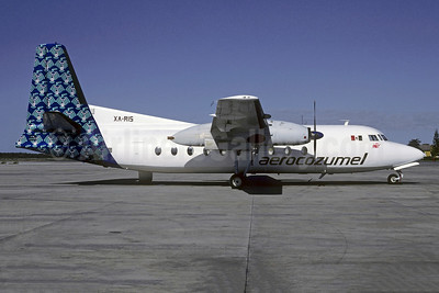 Aerocozumel Fairchild F-27F XA-RIS (msn 23) MID (Christian Volpati). Image: 902295.
