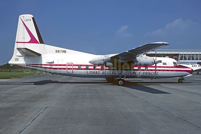 Linhas Aéreas de São Tomé e Príncipe - LASTP Fairchild F-27A S9-TAB (msn 70) TUF (Jacques Guillem Collection). Image: 947847.