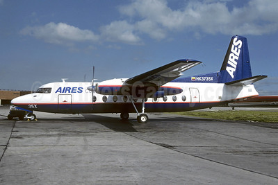 AIRES Colombia Fairchild F-27A HK3735X (msn 68) BOG (Nicky Scherrer - Christian Volpati Collection). Image: 953512.