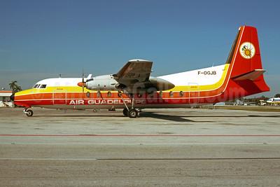 Air Guadeloupe Fairchild F-27J F-OGJB (msn 103) MIA (Bruce Drum). Image: 103591.