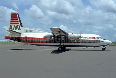 Air Manila-AMI Fairchild F-27 PI-C895 (msn 46) MNL (Christian Volpati). Image: 949202.