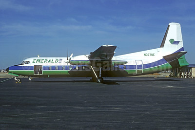 Emerald Air Fairchild-Hiller FH-227C N374NE (msn 504) (Christian Volpati Collection). Image: 931286.