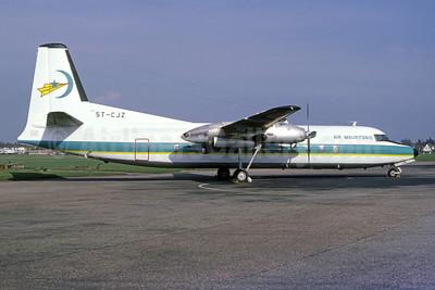 Air Mauritanie Fairchild-Hiller FH-227B 5T-CJZ (msn 542) SEN (Bruce Drum Collection). Image: 953196.
