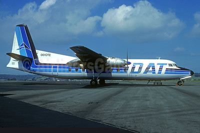 DAT (Delta Air Transport) Fairchild FH-227B OO-DTE (msn 534) LDE (Christian Volpati Collection). Image: 935405.