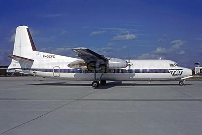 TAT (Touraine Air Transport) (1st) Fairchild-Hiller FH-227E F-GCFC (msn 509) ORY (Jacques Guillem). Image: 950512.