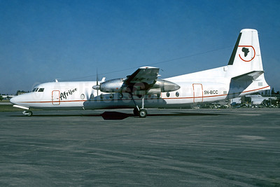 Afrijet Airlines (Nigeria) Fairchild-Hiller FH-227D 5N-BCC (msn 575) OPF (Christian Volpati Collection). Image: 950671.