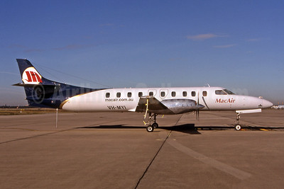 MacAir Airlines Fairchild Swearingen SA227DC Metro 23 VH-MYI (msn DC-869B) BNE (Pepscl). Image: 902674.