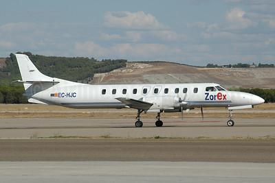 ZorEx Air Transport Swearingen SA226TC Metro II EC-HJC (msn TC-318) MAD (Ton Jochems). Image: 953365.