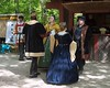 The King, the Queen, the King's Mistress and the Governour of Lyon dance at the opening of the Faire.