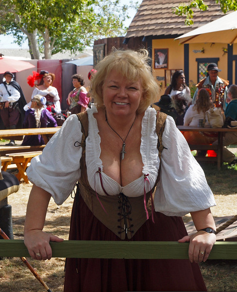 Nancy at the Ren Faire - 23 May 2010