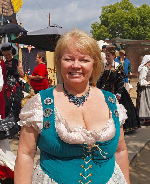 Nancy at the Ren Faire - 9 May 2010
