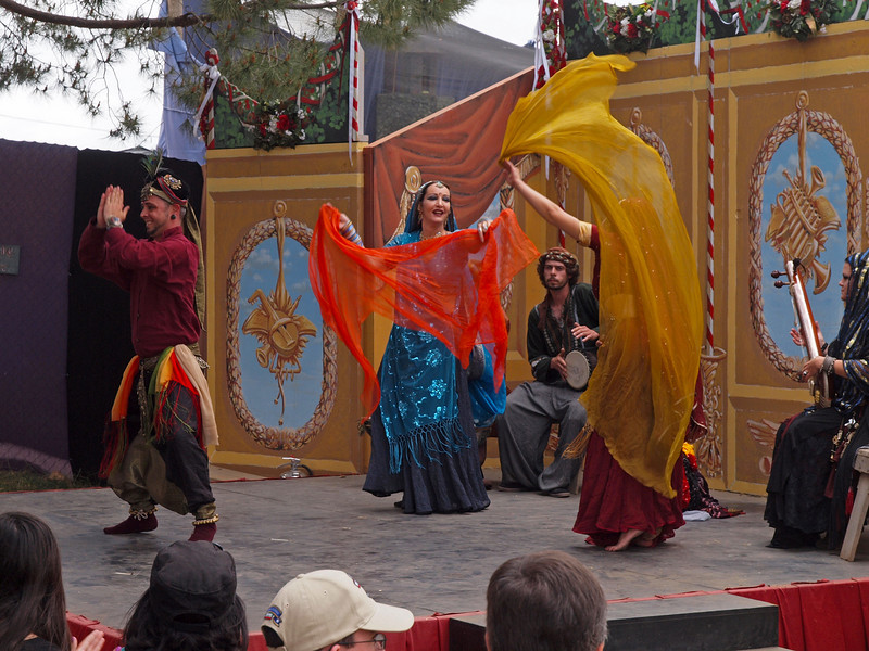Performers at the Ren Faire - 9 May 2010