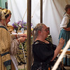 Braiding hair at the Ren Faire - 9 May 2010
