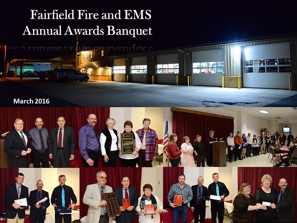 Fairfield Fire Banquet 2016