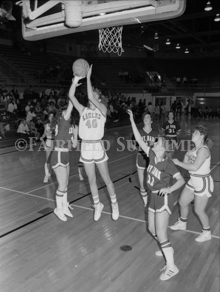 1985 11 20 FFT#47 Girls Northern B Tourney in Shelby, Fairfield vs Simms, Cut Bank_0029