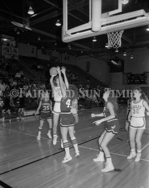 1985 11 20 FFT#47 Girls Northern B Tourney in Shelby, Fairfield vs Simms, Cut Bank_0020