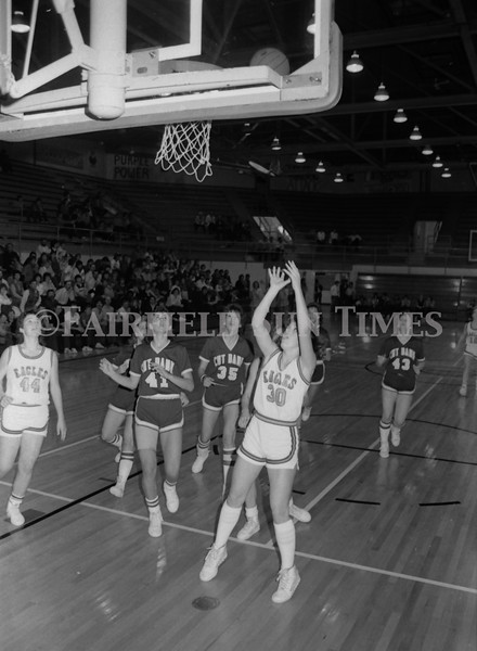 1985 11 20 FFT#47 Girls Northern B Tourney in Shelby, Fairfield vs Simms, Cut Bank_0031