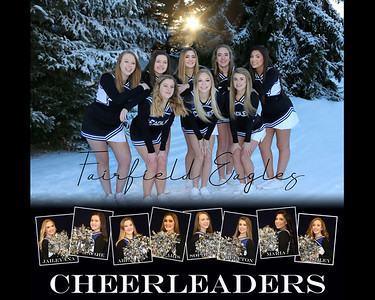 Cheerleaders 8x10 posterl