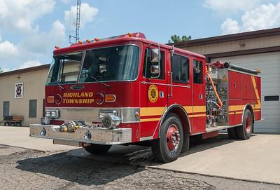 Richland Twp Fire Dept E-582