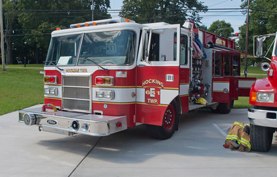 Hocking Twp Fire Dept E-651 1993 Pierce Dash 1250-1000 c