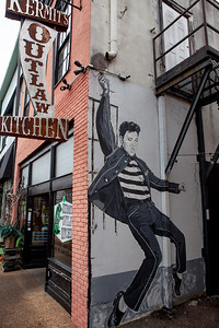 "Elvis ""Jail House Rock"" Kermit's Outlaw Kitchen Tupelo MS_3063"