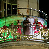 Jonathan Tressler - The News-Herald <br> The Grinch and his crew do their thing during the traditional reading of Dr. Seuss' How the Grinch Stole Christmas atop the Historic Lighthouse in Fairport Harbor in this Dec. 5, 2015 photo.
