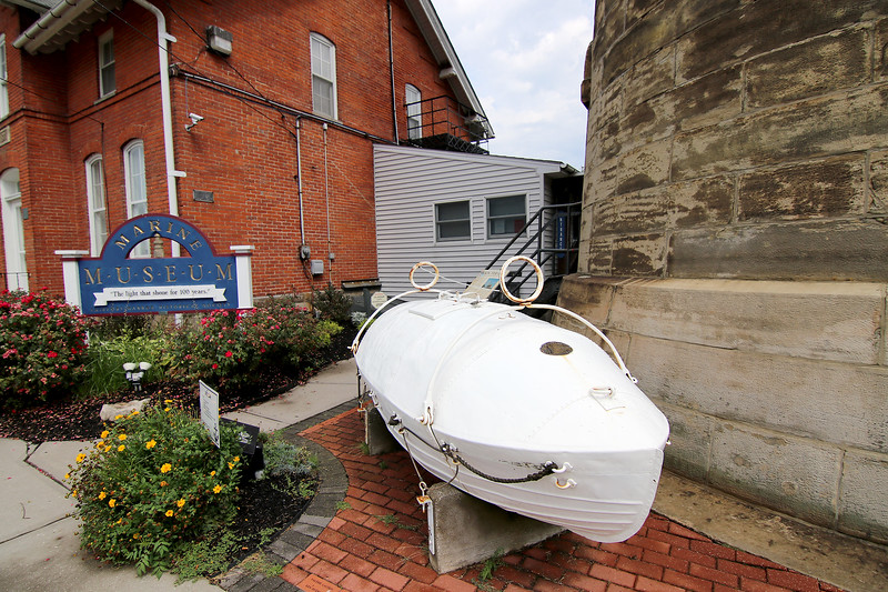 Jonathan Tressler - The News-Herald <br> An Aug. 4 view of the entrance to the Fairport Harbor Marine Museum and Lighthouse.