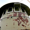 Jonathan Tressler - The News-Herald <br> The front of the Frontenac's pilot house, along with the rest of the structure, on the west end of the Fairport Harbor Marine Museum and Lighthouse could use a paint job.